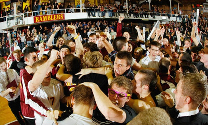 Loyola University Men's Volleyball - Rogers Park: Season Tickets for Youth or Adult to Loyola University Ramblers Men's Volleyball Games at Gentile Arena (Half Off)