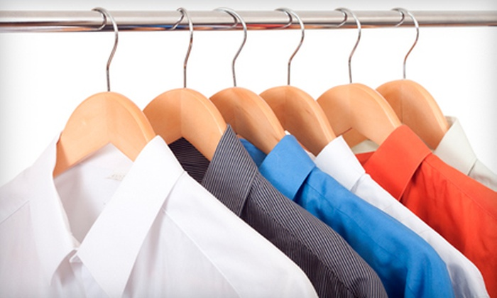 Golden Touch Drycleaners - Florida Center: Dry-Cleaning Services with Pickup and Delivery from Golden Touch Drycleaners (Up to 52% Off)