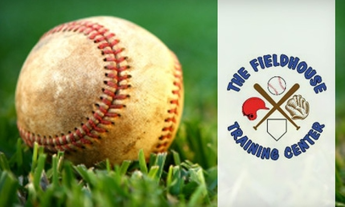 The Fieldhouse Training Center - Hazelwood: $20 for Eight 15-Minute Batting-Cage Sessions at The Fieldhouse Training Center in Hazelwood ($60 Value)