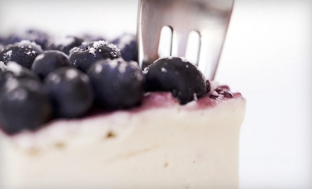 $15 Groupon  - The Ultimate Cheesecake Bakery in Corpus Christi