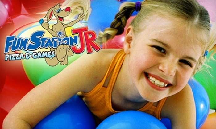 Funstation JR - Tallahassee: $20 for $40 Worth of Games, Fare, and Bumper Cars at Funstation JR