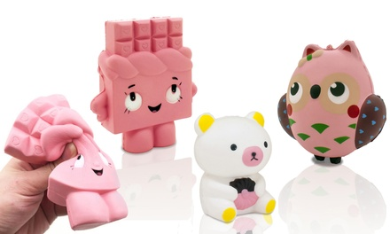 Set of Three Character Slow Rise Squishies