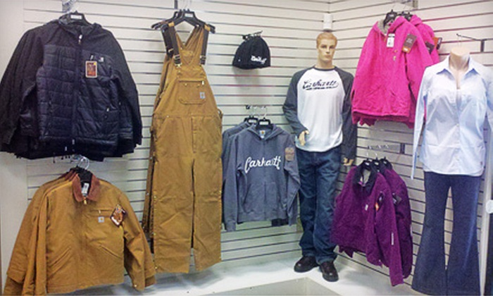 Reid Safety Outerwear & Workwear Store - Multiple Locations: $25 for $50 Worth of Outdoor Apparel and Footwear at Reid Safety Outerwear & Workwear Store
