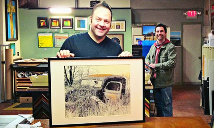 The Preservation Framer - North Attleborough: Custom Framing at The Preservation Framer in North Attleboro (Up to 55% Off). Two Options Available.