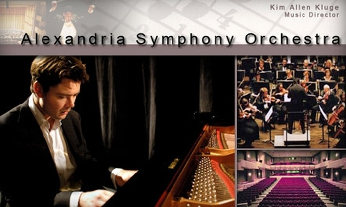 Alexandria Symphony Orchestra - Alexandria West: $20 for One Ticket to the Alexandria Symphony Orchestra. Choose from Three Dates.