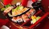 Sushi box d'asporto con 52 o 104 pezzi