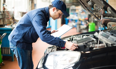 Major Car Service with 150-Point Safety Check ($69) or $74 to Add Mini Detail at Car Care Evolution (Up to $280 Value)