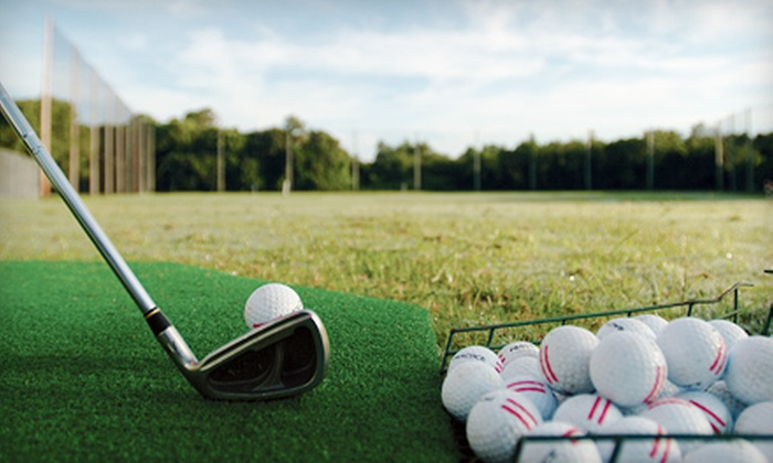 The Range - Highland Hills: Half-Hour or One-Hour Golf Lesson or Two Buckets of Practice Balls at The Range