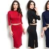 Matching Separates Dress (2-Piece)