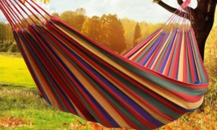 Colourful Outdoor Hammock