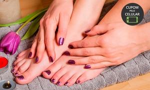 Studio Lolla - BH: Studio Lolla – Coração de Jesus: 1, 2 ou 3 meses de manicure e pedicure
