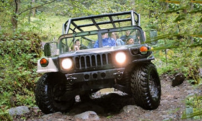 Red River Gorge Off-Road Tours - Campton: Off-Road Hummer Tour for Two, Four, or Six from Red River Gorge Off-Road Tours in Campton (Up to 62% Off)
