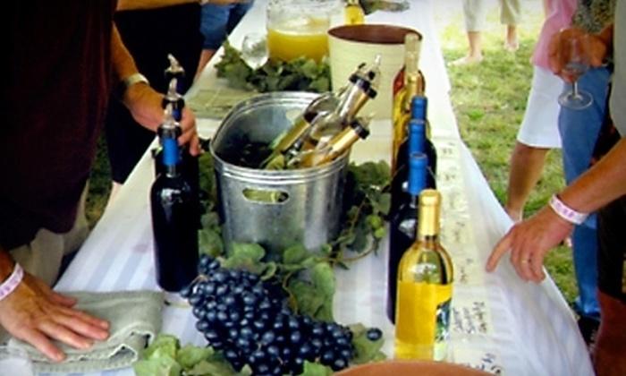 Taste Carolina Wine Festival - Colfax: $9 for Admission to the Taste Carolina Wine Festival on September 17 in Colfax (Up to $20 Value)