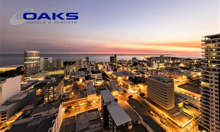 Darwin, NT: 3, 5 or 7 Nights for Two or Four People with Breakfast, Dinner and Late Check-Out at Oaks Elan Darwin