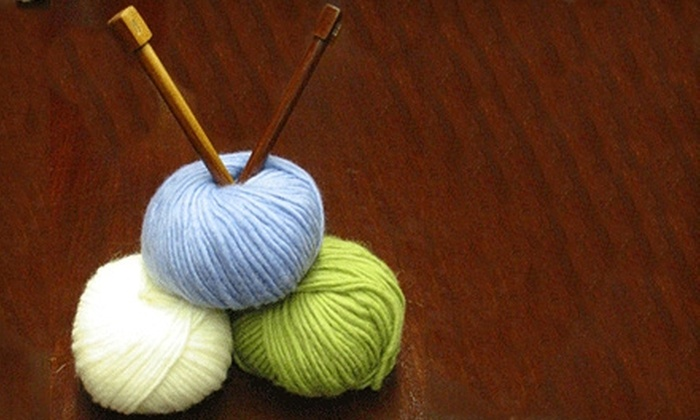 The Creative Stitch - Hingham: $22 for Beginning Knitting Class Plus Materials at The Creative Stitch in Hingham