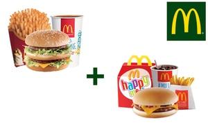 Menu Happy Meal™ et Maxi Best Of™ chez McDonald's™