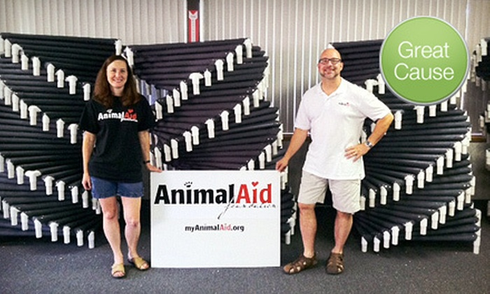 Animal Aid Foundation: $10 Donation to Help Build Beds for Shelter Dogs