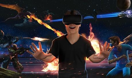 1 sesión de realidad virtual de 30 o 50 minutos, para 1 o 2 personas, en Virtual Arena