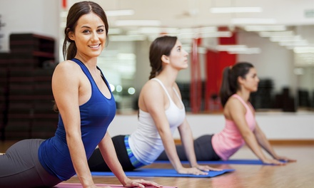 10 or 20 Yoga Classes at East Wind Yoga (Up to 78% Off)