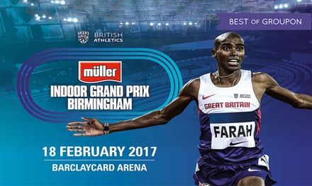 Müller Indoor Grand Prix Birmingham, 18 February at Barclaycard Arena