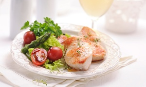 The Hardwick Arms Hotel: One- or Two-Course Meal for Two at The Hardwick Arms Hotel (Up to 59%)