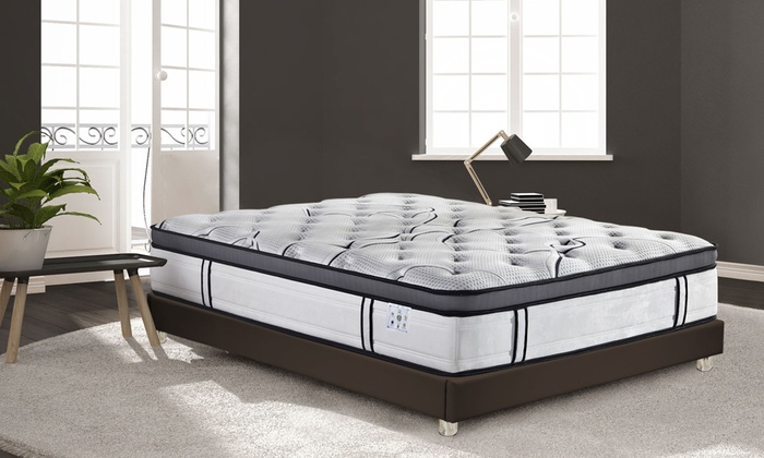 matelas grandview sampur m moire forme groupon. Black Bedroom Furniture Sets. Home Design Ideas