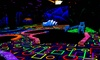 GLO Mini Golf - Riverside: Indoor Glow Mini Golf at GLO Mini Golf (Up to 50% Off). Four Options Available.