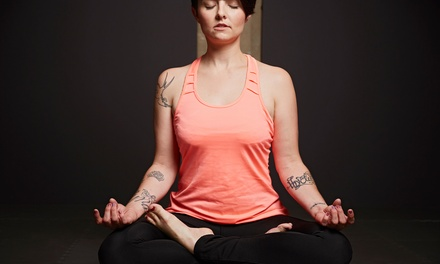 $38 for One Month of Unlimited Yoga Classes at Gurus Gate Yoga ($128 Value)