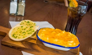 Sportsters Bar & Diner: Two-Course Meal for Two or Four at Sportsters Bar & Diner (Up to 54% Off)