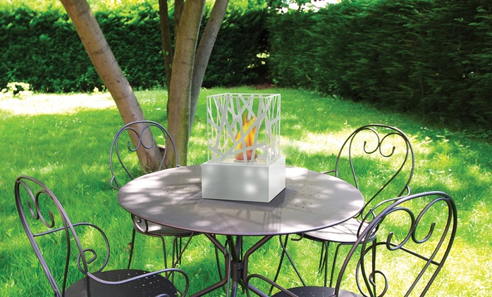 Bio-Ethanol Portable Indoor or Outdoor Fireplaces from £29.99 With Free Delivery