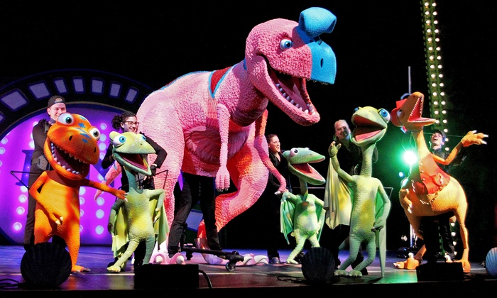 "Jim Henson's Dinosaur Train Live: Buddy's Big Adventure - Tilles Center for the Performing Arts: ""Jim Henson's Dinosaur Train Live"" at Tilles Center Concert Hall on Saturday, April 11 (Up to 39% Off)"