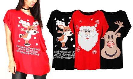 Oops Christmas Oversized T-Shirt