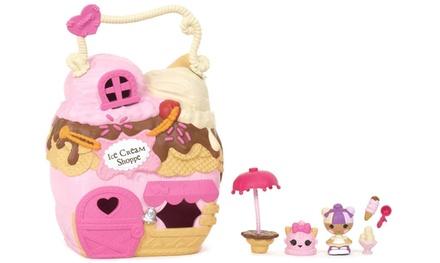 Casa maletín de juguete Lalaloopsy Tinies Scoops House de Mattel