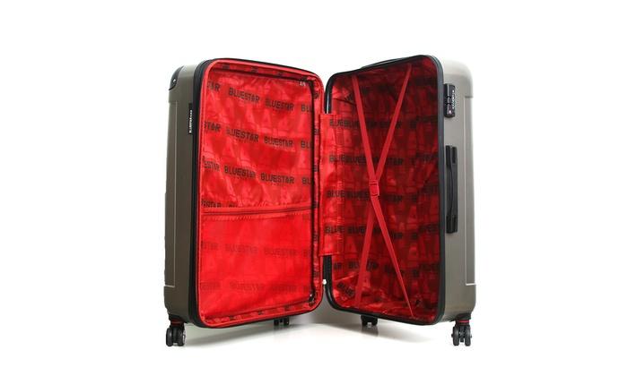 3er koffer set inkl schuhsack groupon. Black Bedroom Furniture Sets. Home Design Ideas