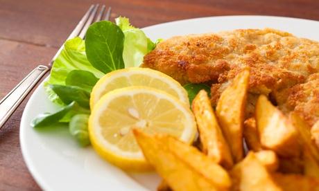 Sparangebote: Exklusives 3-Gänge-Schnitzel-Menü für Zwei im Restaurant Badnerland (37% sparen*)