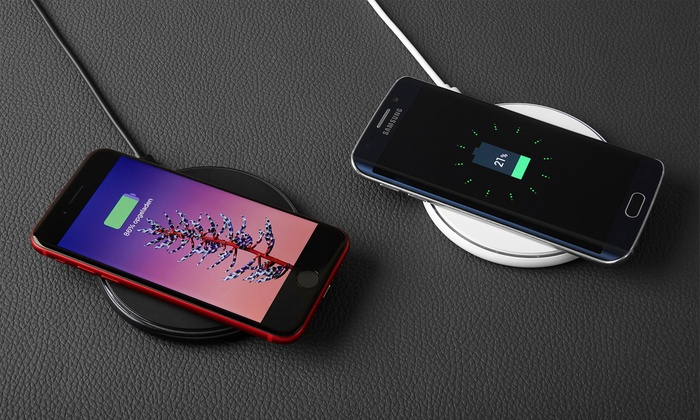 Ultra-Thin Wireless Qi Charging Pad for Smartphones from £7.99
