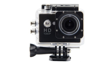1080p Underwater Waterproof Action Cam (AED 99) with MicroSD Card (AED 109)