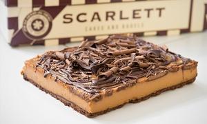 Scarlett: Torta mediana en 5 variedades a elección con Scarlett. Elegí entre 4 sucursales