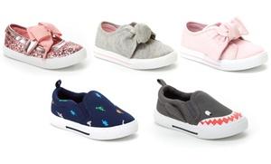 Carters Girls or Boys Slip-On Sneakers