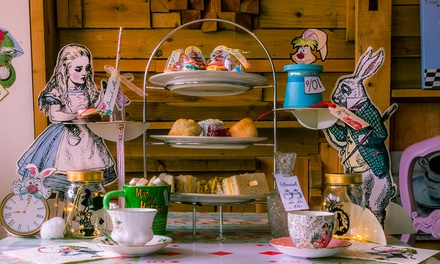 Mad Hatter's Afternoon Tea for Two or Four at Spangles Tea Room