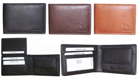 One or Two Large Men's Ridgeback Leather Wallets