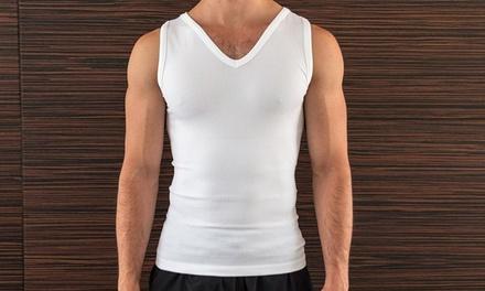 Pack de 2 camisetas reductoras para hombre Fit x Slim