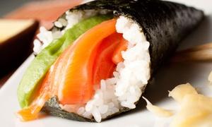 Sashimi Asian Restaurant: Pan-Asian Cuisine and Sushi at Sashimi Asian Restaurant. (43% Off). Two Options Available.