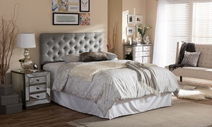 Viviana Upholstered Button-Tufted Headboard