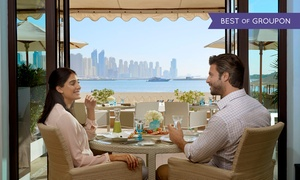 Seagrill On 25° Restaurant & Lounge: Two- or Three-Course Meal with Pool and Beach Access for One, Two or Four at Fairmont the Palm, Seagrill on 25°