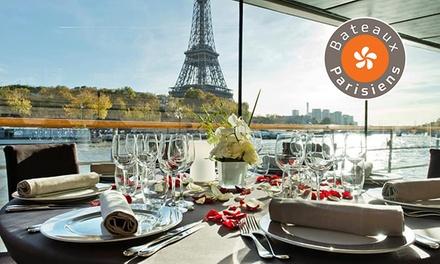 Croisière déjeuner à Paris