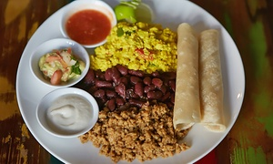 VSPOT Gramercy: Latin Organic Food for Two or Four at VSpot (40% Off). Two Options Available.