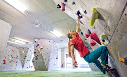 One Session of Indoor Bouldering with Introduction and Day Pass for 12+ at The Arch North Climbing Wall (70% Off)