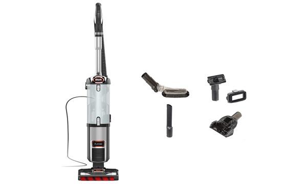 Shark DuoClean Slim NV202 Bagless Upright Vacuum Charcoal