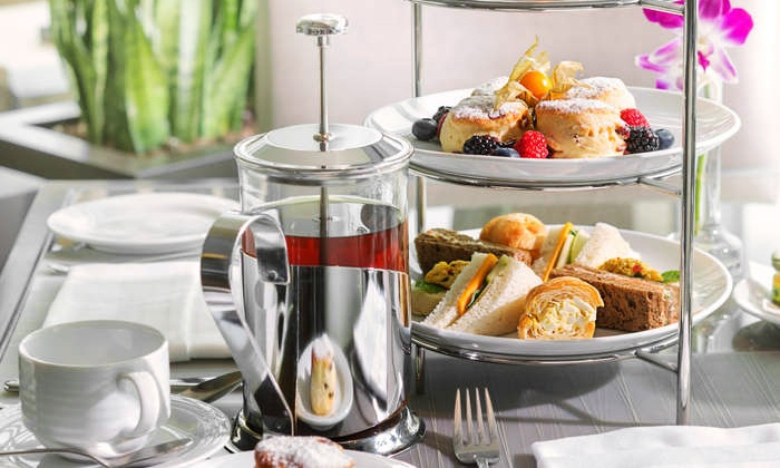Fairmont Battery Wharf - North End: $49 for Tea by the Sea for Two with Scones and Sandwiches at Fairmont Battery Wharf ($78 Value)